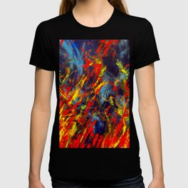 Prairie Fire Abstract, No.2 T-shirt