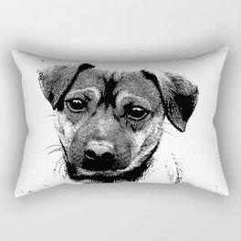 Puppy Portrait Rectangular Pillow