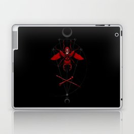Blood Moon Stag Beetle Laptop & iPad Skin