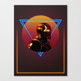 Iron Man 80's Alternative Character Poster Canvas Print