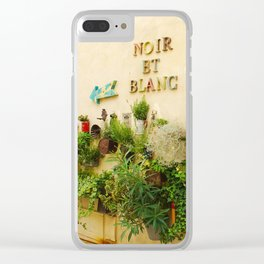 Wall of Plants Saint Remy de Provence Clear iPhone Case
