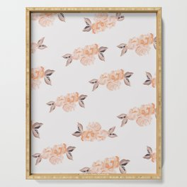 Evie Floral Serving Tray