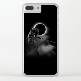 Loyal Wolf Clear iPhone Case