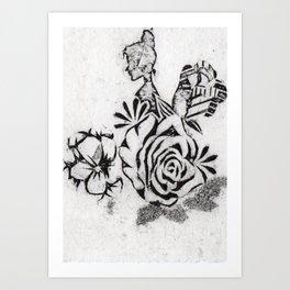 Fragmented Woman (1/4) Art Print