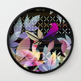 Garden Music Wall Clock