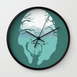 Loch Ness Monster Wall Clock