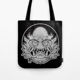 Oni from the Black Lagoon (dark) Tote Bag
