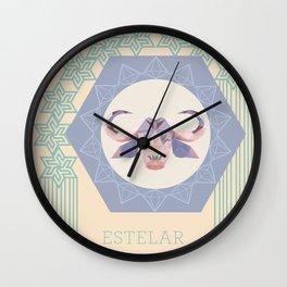 Baph Estelar Wall Clock