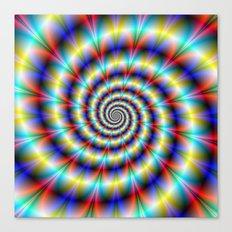 Psychedelic Twist Canvas Print