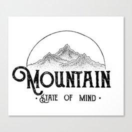 MSOM Version 2 White Canvas Print
