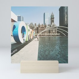 Canada Photography - Toronto Fountain Mini Art Print