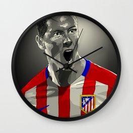 Fernando Torres - Atlético Madrid Wall Clock