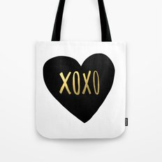 XOXO x Gold Tote Bag