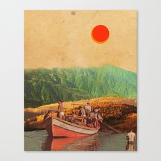 Eternal Noons Canvas Print