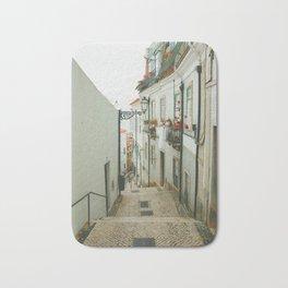 Lisboa Streets Bath Mat
