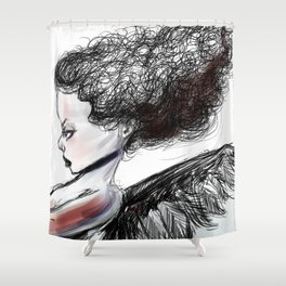 The Heart Theif Shower Curtain