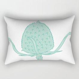 Wild Teasel Illustration Rectangular Pillow