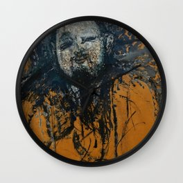 "Amedeo Modigliani ""Diego Rivera"" (1916) Wall Clock"