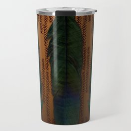 Brass and feathers Travel Mug