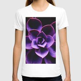 Ultraviolet Succulent Plant #decor #society6 #buyart T-shirt