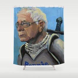 Sir Bernie Sanders Shower Curtain