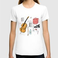 murakami T-shirts featuring I miss you sometimes by Saskdraws