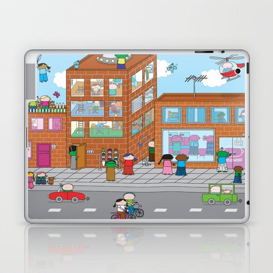 Oekie Street  Laptop & iPad Skin