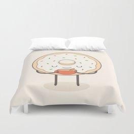 donut loves holidays Duvet Cover