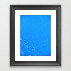 Leaving a Trace Framed Art Print