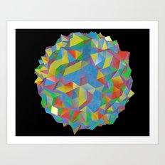 IsoPixel Art Print
