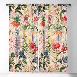 Vintage & Shabby Chic -  Spring Botancial Flower Garden Art Print Blackout Curtain
