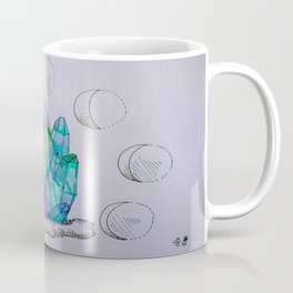 Moon Phases Crystals 1 Coffee Mug