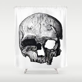 Skull 8 Shower Curtain