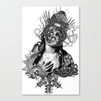 passion Canvas Prints featuring Passion by DIVIDUS