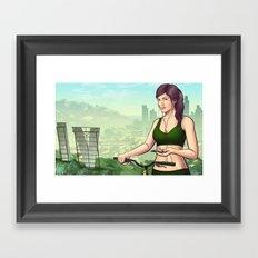 Welcome to Vinewood  Framed Art Print