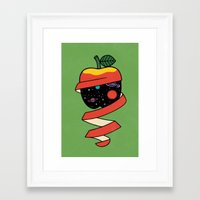 physics Framed Art Prints featuring Physics by Studio-Takeuma