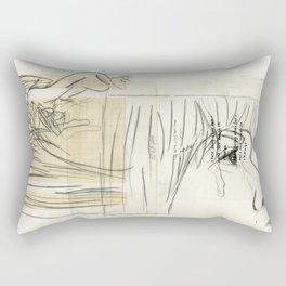10 p.m. Rectangular Pillow