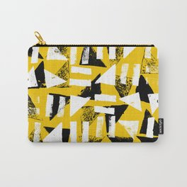 Signs - Black & Yellow Carry-All Pouch