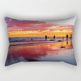 Cellphone Sunset HB    ( 9/7/13 ) Rectangular Pillow