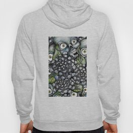 Skulls and Chrysanthemums Hoody