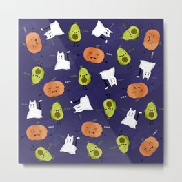 Cute Halloween Metal Print