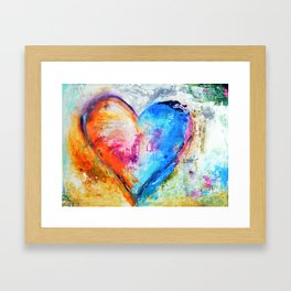 The Patience of Love Framed Art Print