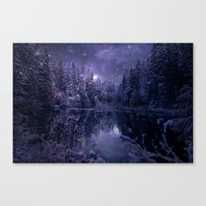 A Cold Winter's Night Canvas Print
