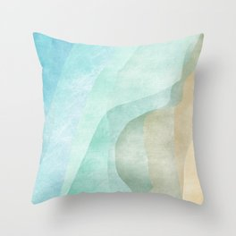 Stratum 9 Calm Throw Pillow