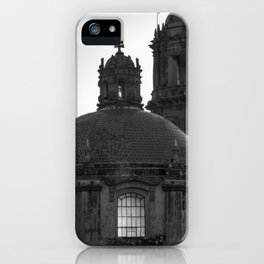 Dome black & white iPhone Case