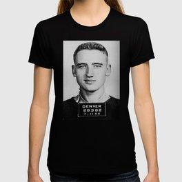 Neal Cassady Mug Shot (Front) T-shirt