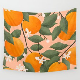 fresh citrus Wall Tapestry