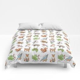British Woodland Wildlife Comforters