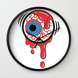 Bloody Eyeball Wall Clock
