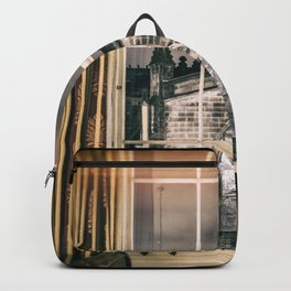 Night view on St giles cathedral Edinburgh Scotland Backpack